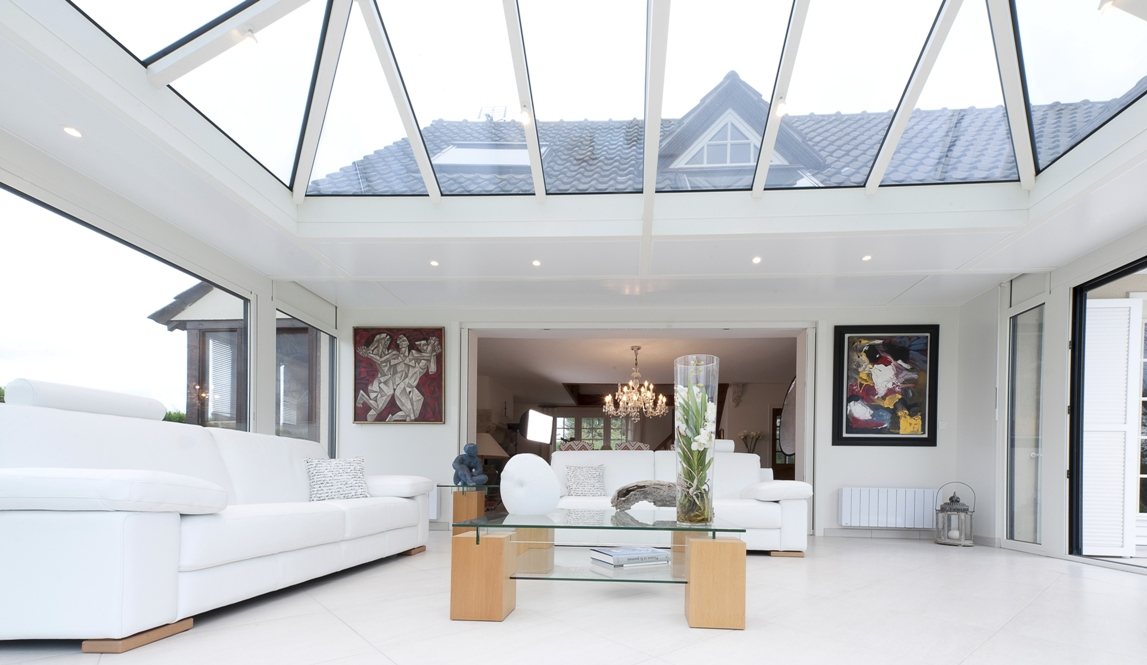 v randa toit plat. Black Bedroom Furniture Sets. Home Design Ideas